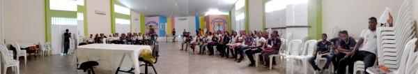 Auditório do Colégio Estadual Cachoeira